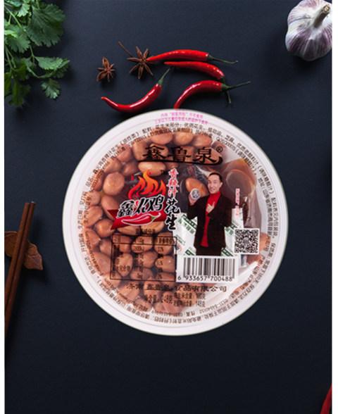大碗辣汁花生248克